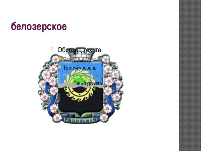 белозерское