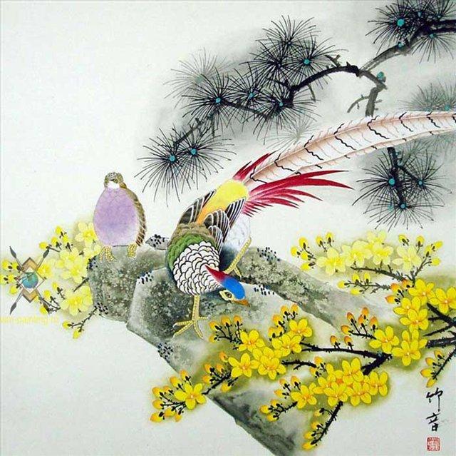C:\Documents and Settings\Admin\Мои документы\Мои рисунки\картинки япония\40616025_Hudozhnik_Liu_ZHuyin_2006_Cvetuy_i_pticuy.jpg