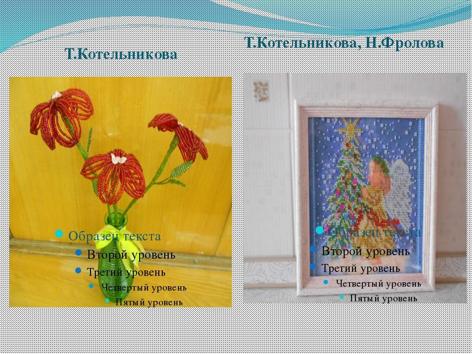 Т.Котельникова Т.Котельникова, Н.Фролова