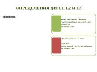 ОПРЕДЕЛЕНИЯ для L1, L2 И L3 /39