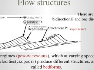 Flow structures There are 2 kinds: bidirectional and one directional. Flow re