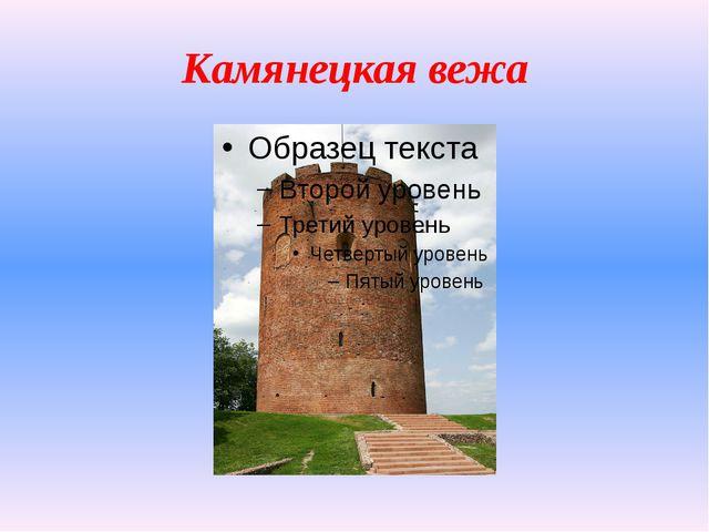 Камянецкая вежа