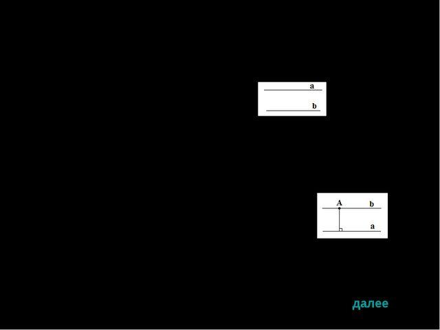 Определение: Две прямые называются параллельными , если они не пересекаются....