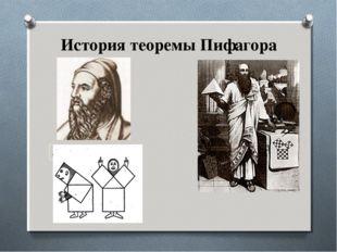 580-500 г. до н. э. История теоремы Пифагора