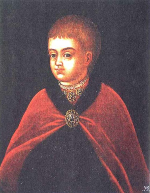 царь пётр 1 в детстве