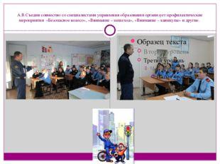 А.В.Съедин совместно со специалистами управления образования организует профи