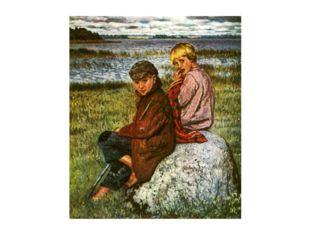Колорит картин звенит в его импрессионистической живописи. Все согрето любовь