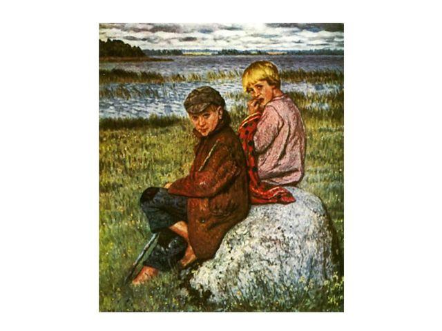Колорит картин звенит в его импрессионистической живописи. Все согрето любовь...