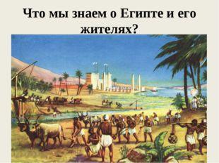 Что мы знаем о Египте и его жителях?