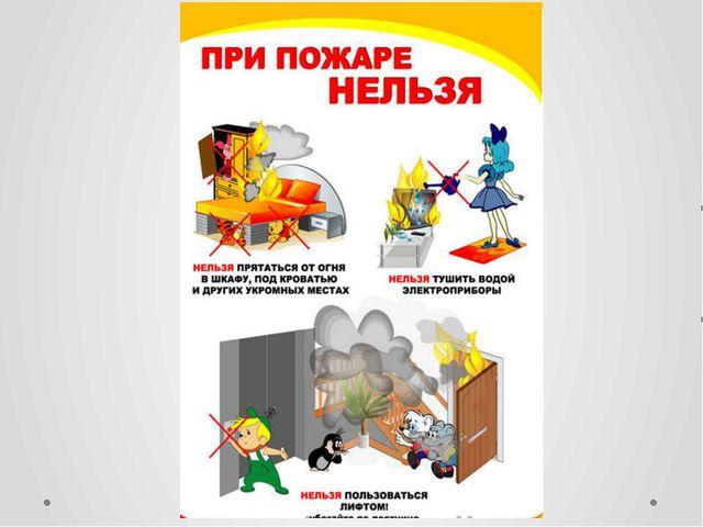 Обж 5 класс пожарная безопасность конспект урока