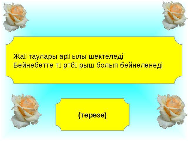 Жақтаулары арқылы шектеледі Бейнебетте төртбұрыш болып бейнеленеді (терезе)