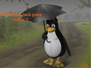 Where has Jack gone today ?