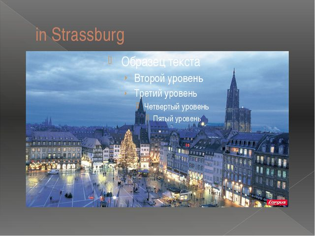 in Strassburg