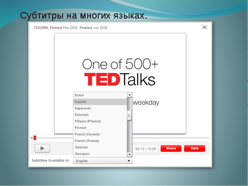 Субтитры на многих языках. http://www.ted.com/talks/raul_midon_plays_everybod...