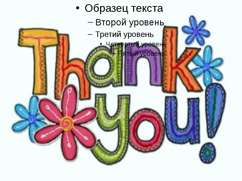 Благодарность за поздравление на английском