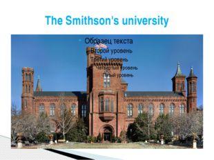 The Smithson's university