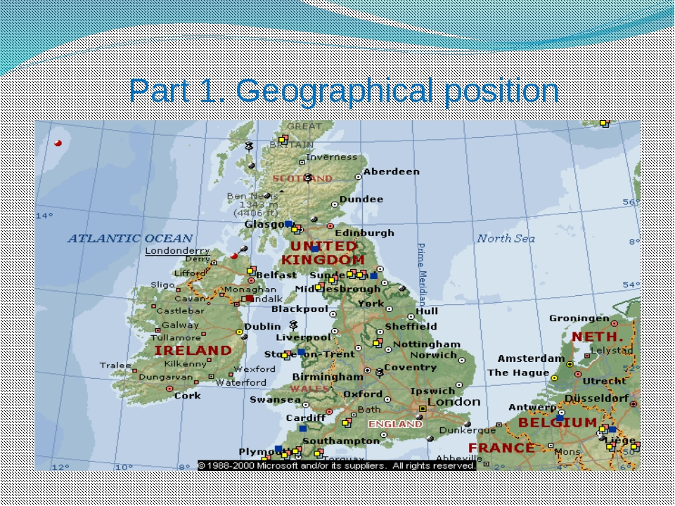 Part 1. Geographical position
