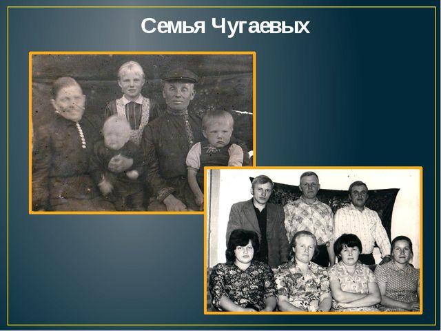 Семья Чугаевых