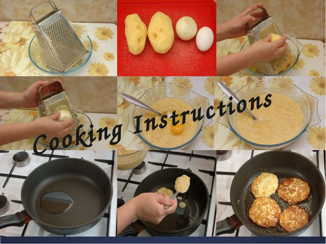 First of all you will need a grater to grate potatoes and onions. Be sure tha...