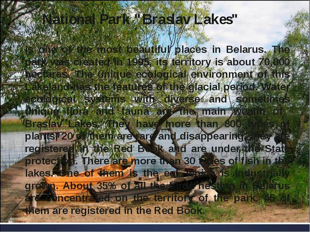 "National Park ""Braslav Lakes"" is one of the most beautiful places in Belarus...."