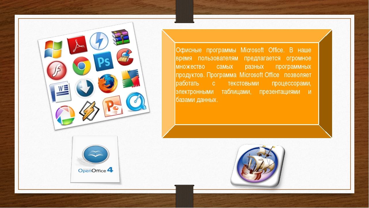 Офисные программы Microsoft Office. В наше время пользователям предлагается о...
