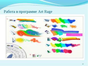 Работа в программе Art Rage *