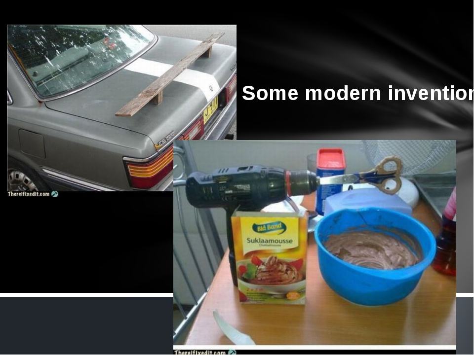 Some modern inventions