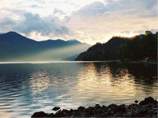 Ключ для взаимопроверки. Телецкое озеро - самое большое озеро Алтая. Во время