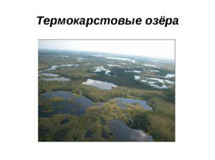 Термокарстовые озёра