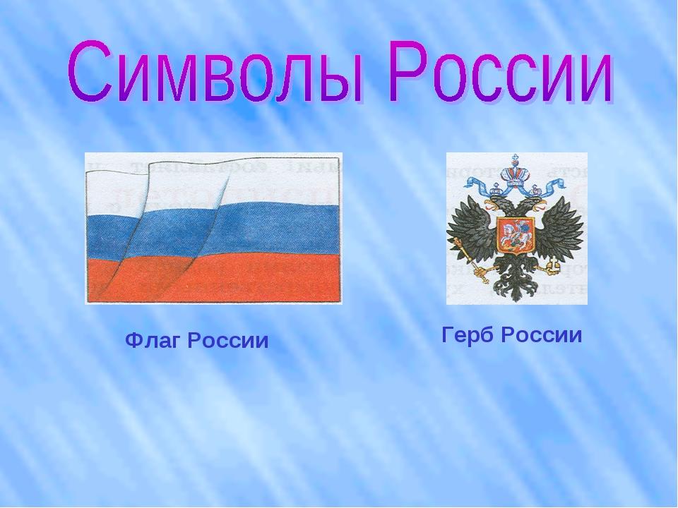 Флаг России Герб России