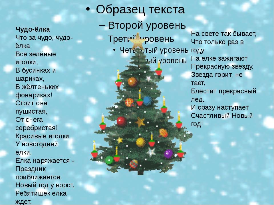 Это означает , что скоро наступит Новый год! Чудо-ёлка Что за чудо, чудо-ёлк...