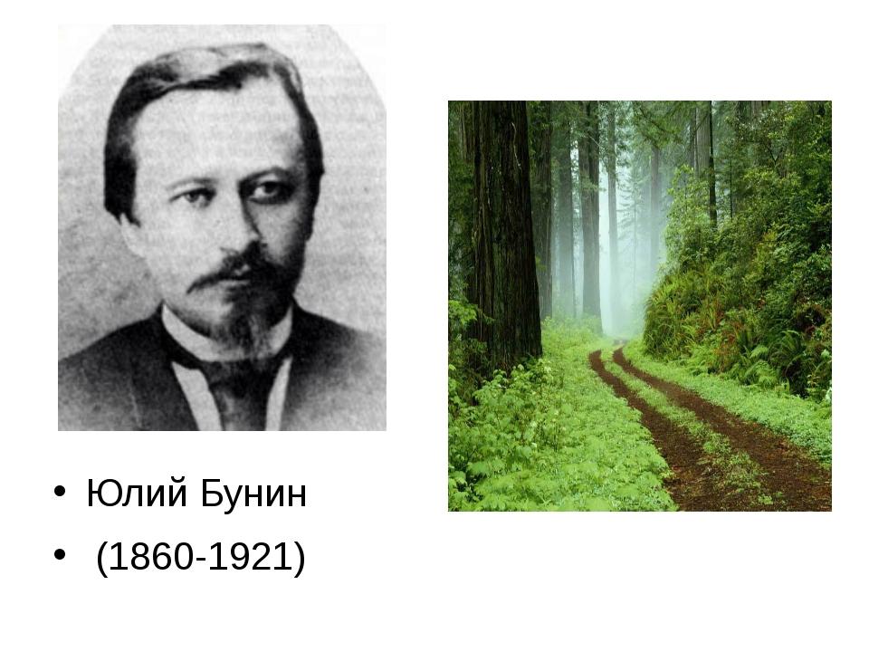 Юлий Бунин (1860-1921)