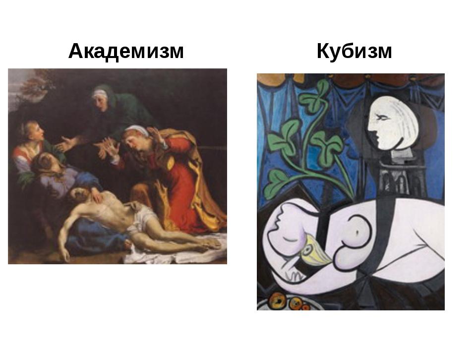 Академизм Кубизм