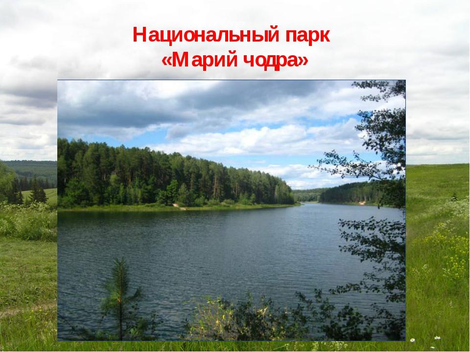Национальный парк «Марий чодра»