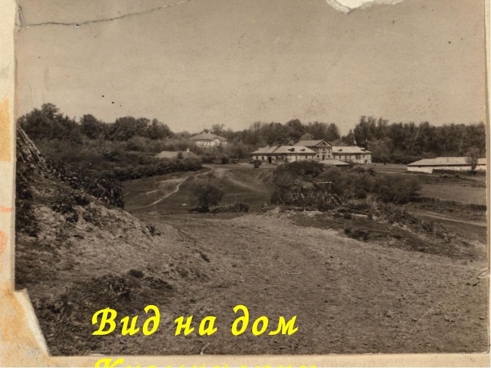 Вид на дом Кузминских