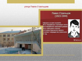 улица Павла Стрельцова