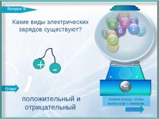 Ответ Далее http://edu-teacherzv.ucoz.ru Какие виды электрических зарядов сущ