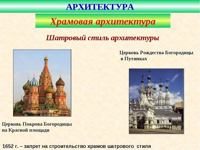 Церковь Покрова Богородицы на Красной площади Церковь Рождества Богородицы в...