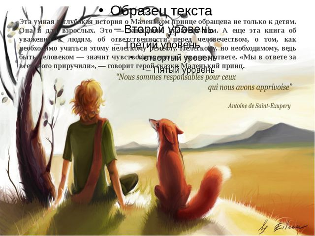 Эта умная и глубокая история о Маленьком принце обращена не только к детям. О...