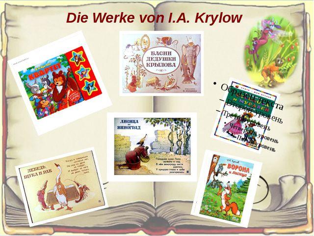 Die Werke von I.A. Krylow
