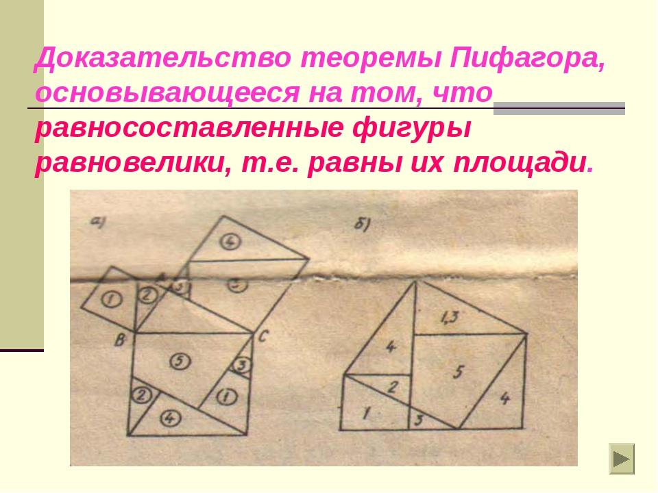 Простое доказательство теоремы пифагора