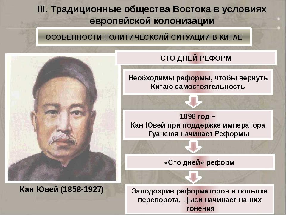 1898 год – начало восстания членов тайного общества ихэтуаней («Кулак во имя...