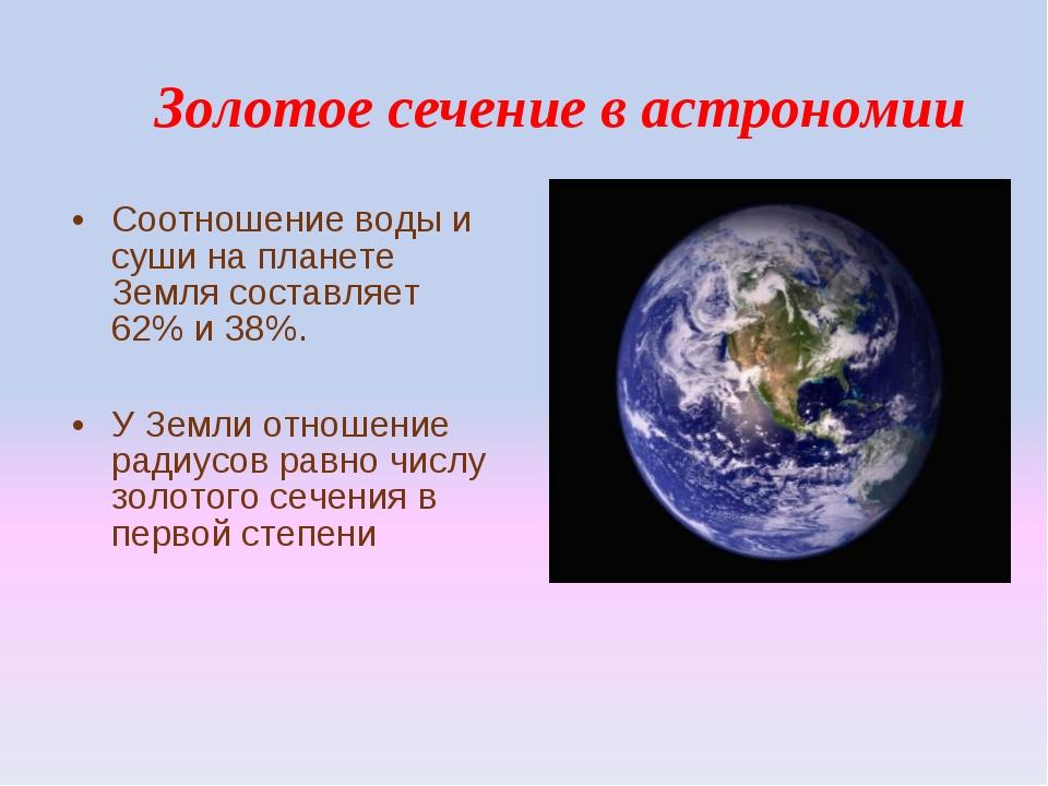 Моё отношение к астрономии