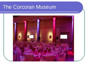 The Corcoran Museum