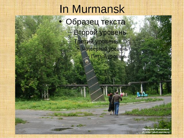 In Murmansk