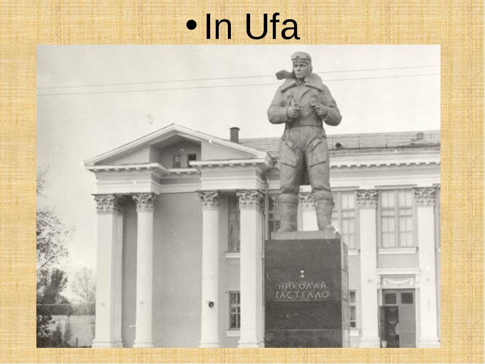In Ufa
