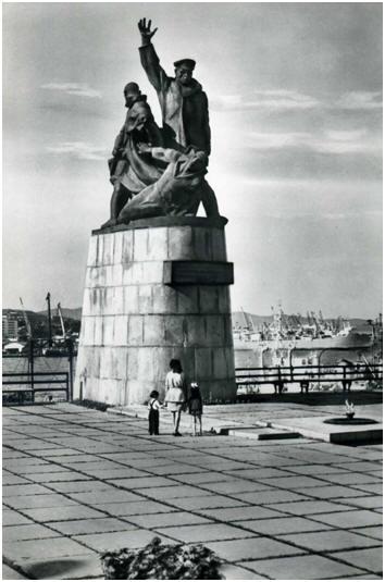 Памятник морякам, погибшим во время Великой Отечественной войны 1914-1945 гг.