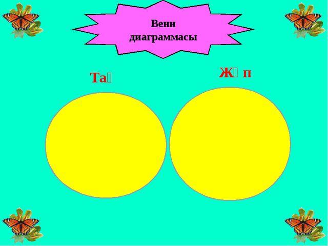 Венн диаграммасы Тақ Жұп