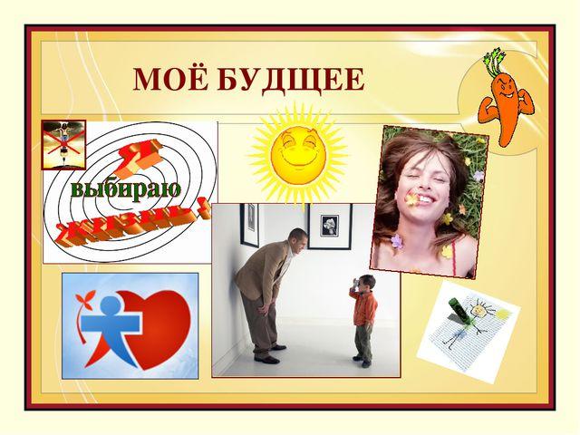 МОЁ БУДЩЕЕ