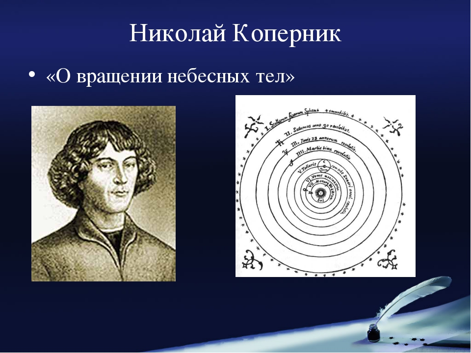 Николай Коперник «О вращении небесных тел»